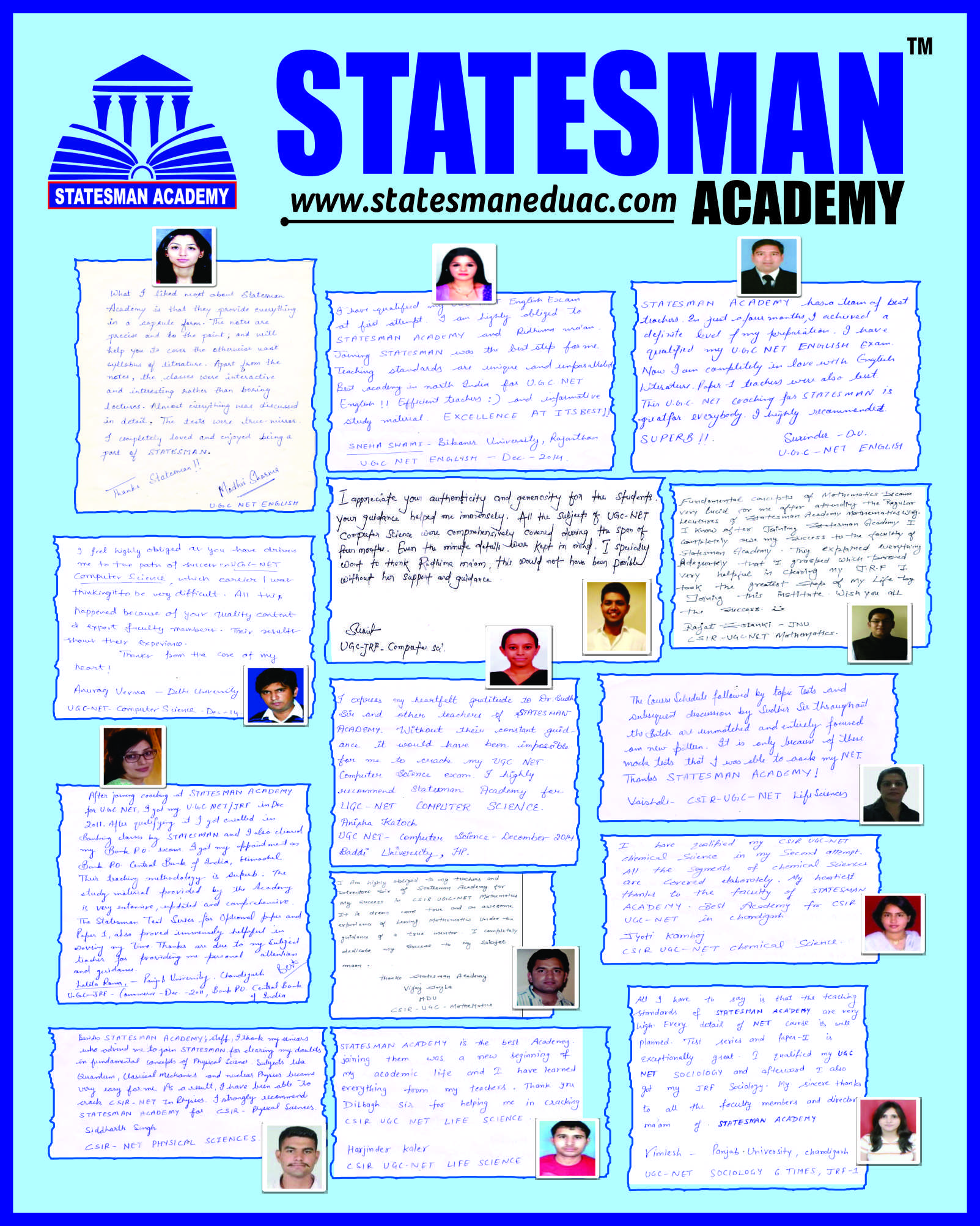 profile of Statesman Academy