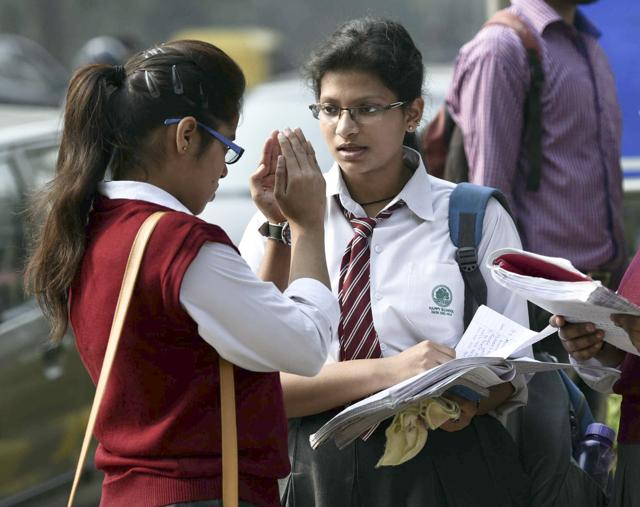 CBSE students demand retest after tough math board paper