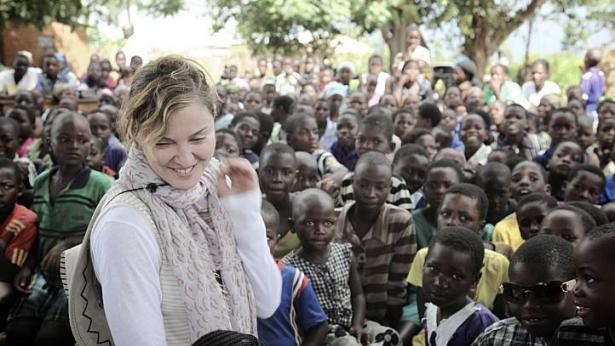 Madonna opens Malawi school project in Kasungu