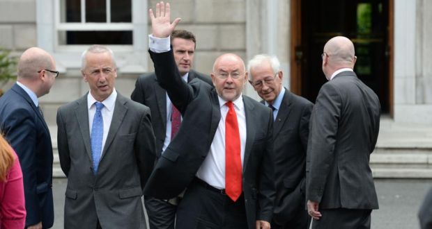Minister for Education Ruairí Quinn has resigned from Cabinet Ministe
