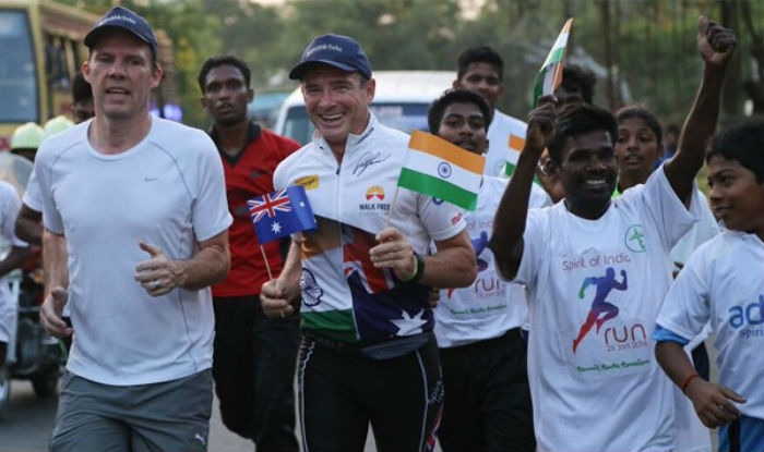Spirit of India run...