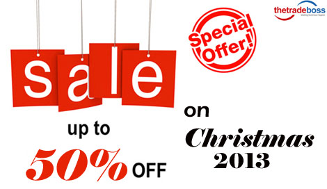 Exclusive Christmas offer by thetradeboss.com