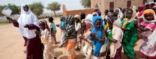 Improving Health and Education in Darfur by EU and UNICEF